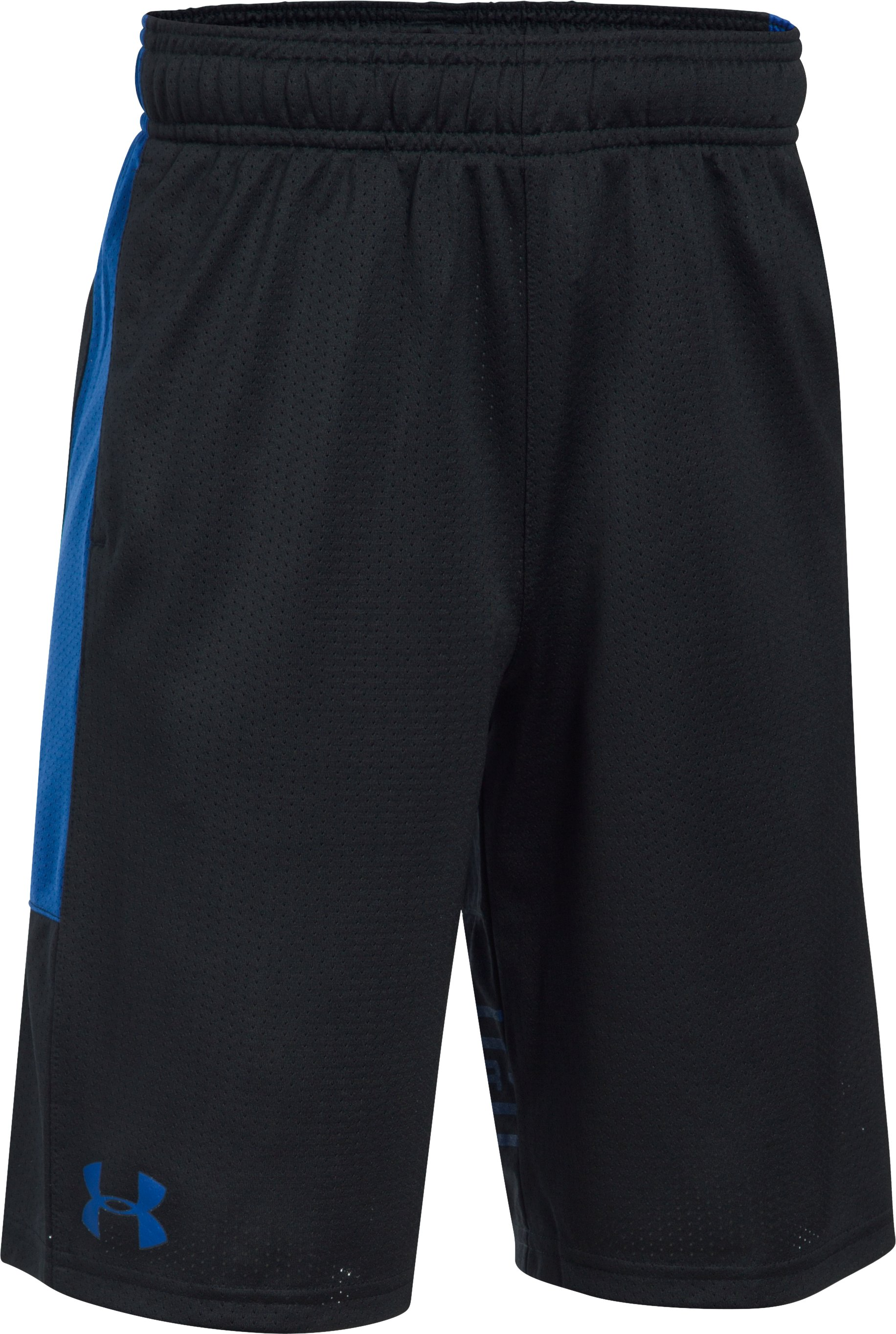 Boys' UA Train To Game Shorts, Black ,