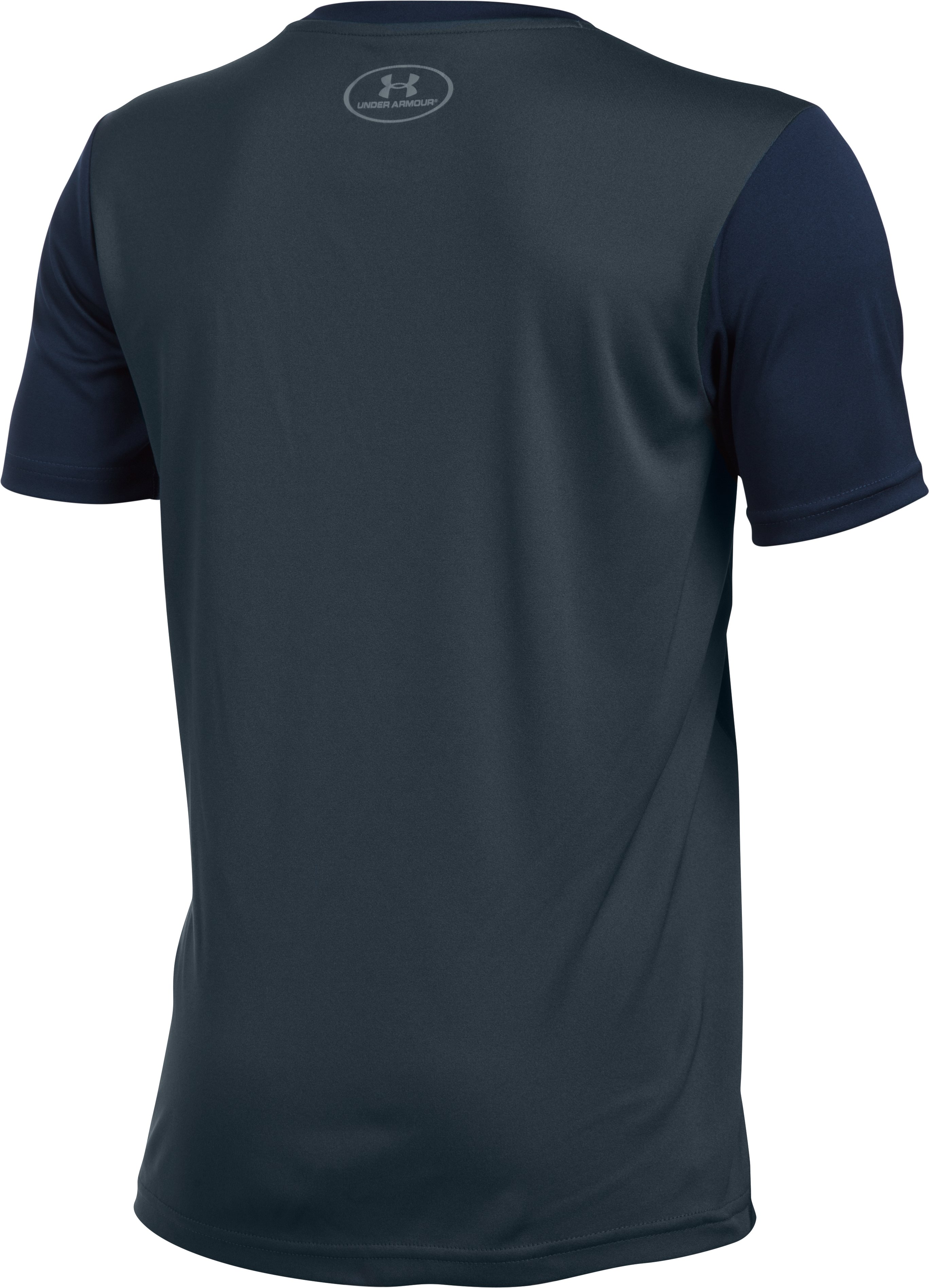 Boys' Auburn UA Tech™ CB T-Shirt , Midnight Navy, undefined