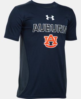 New Arrival Boys' Auburn UA Tech™ CB T-Shirt   1 Color $26.99