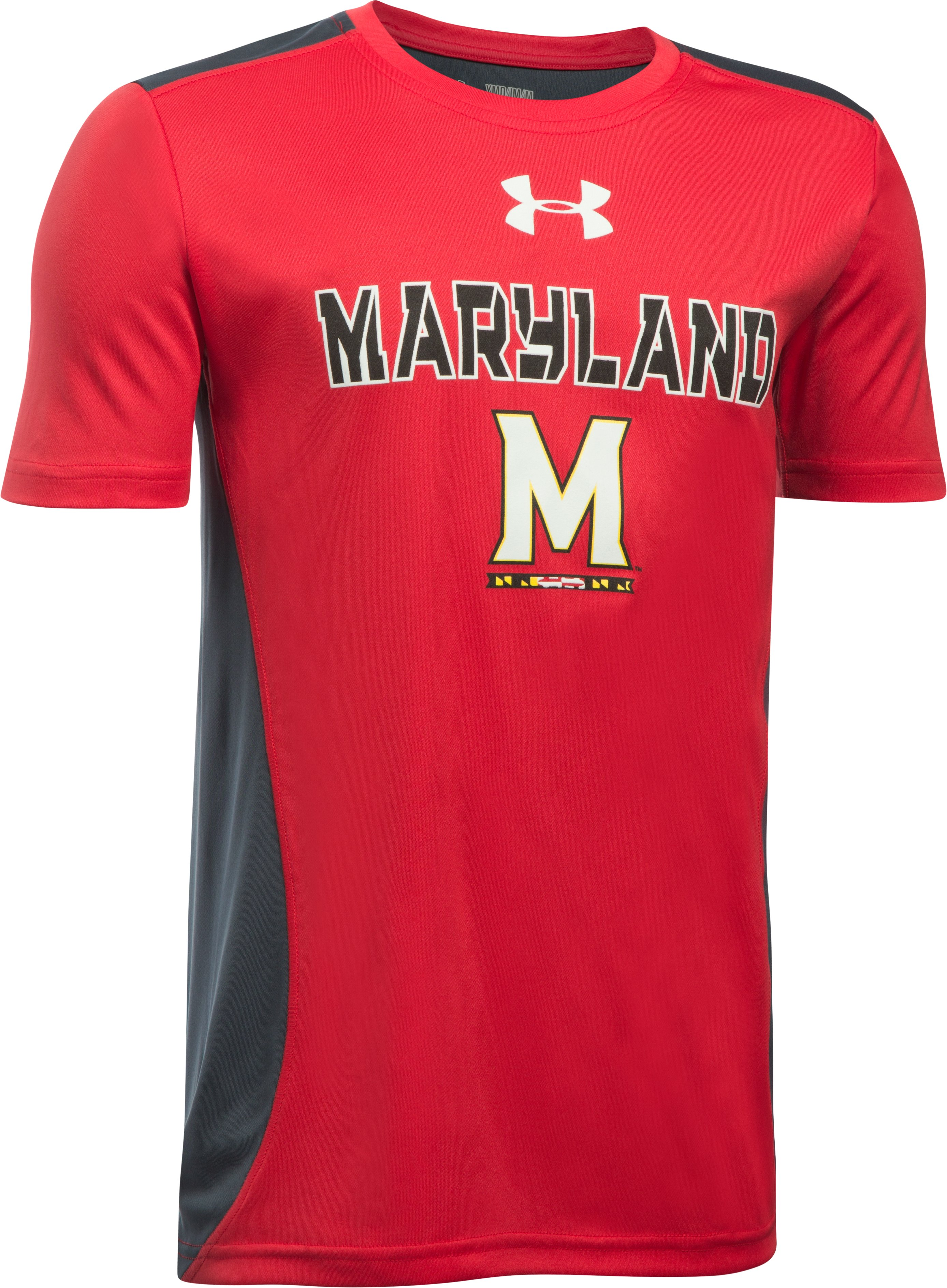 Boys' Maryland UA Tech™ CB T-Shirt , Red