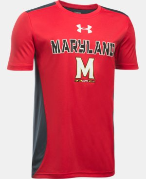 New Arrival Boys' Maryland UA Tech™ CB T-Shirt  LIMITED TIME: FREE U.S. SHIPPING 1 Color $26.99