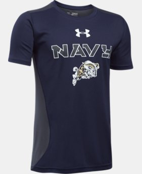 Boys' Navy UA Tech™ CB T-Shirt   1 Color $26.99
