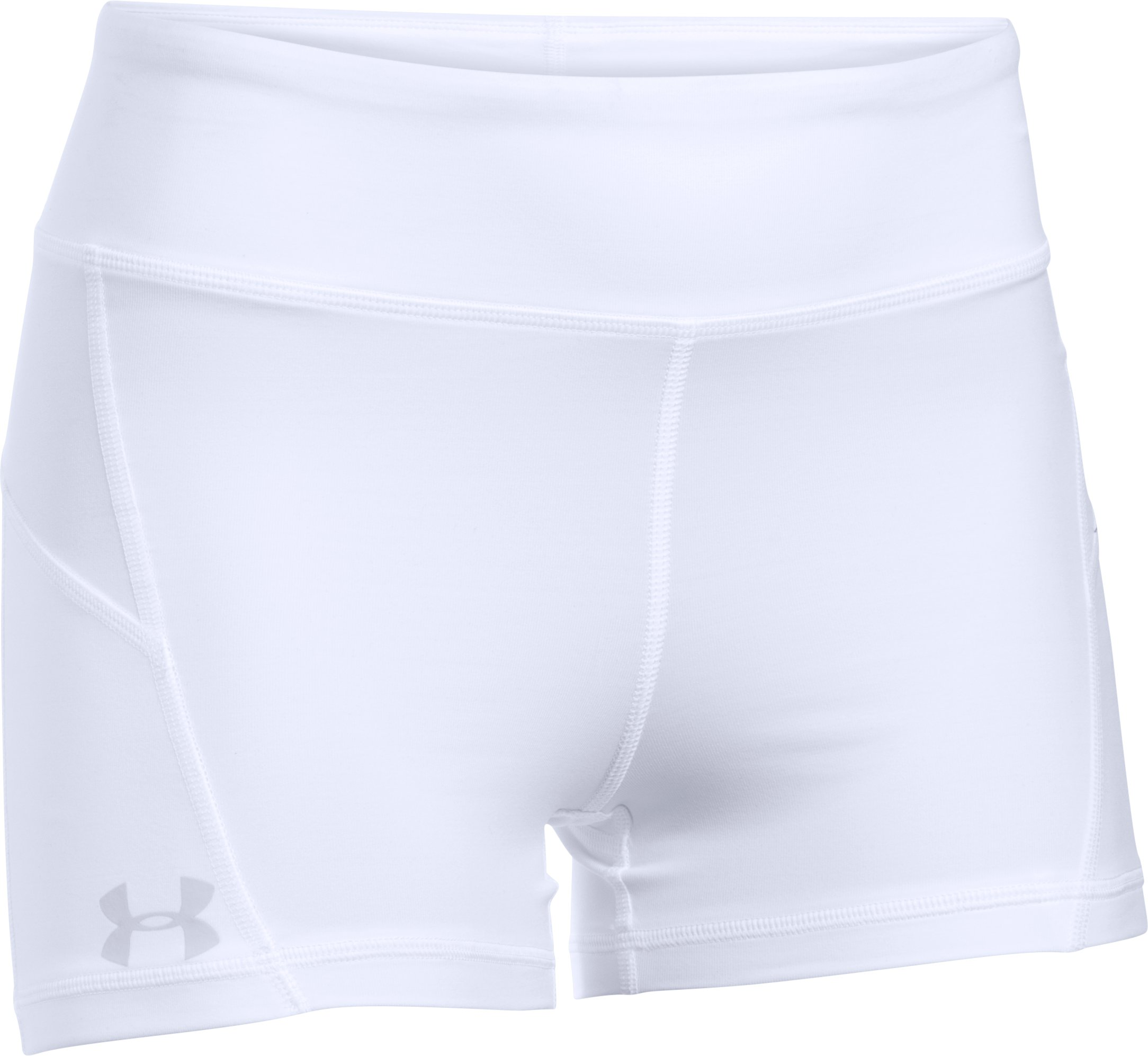 Women's UA Center Court Shorty, White, undefined