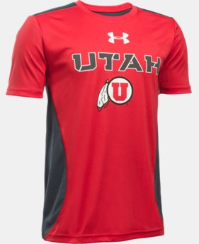 Boys' Utah UA Tech™ CB T-Shirt    $26.99