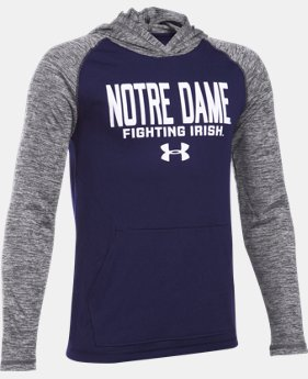 New Arrival Boys' Notre Dame UA Tech™ Hoodie  1 Color $39.99