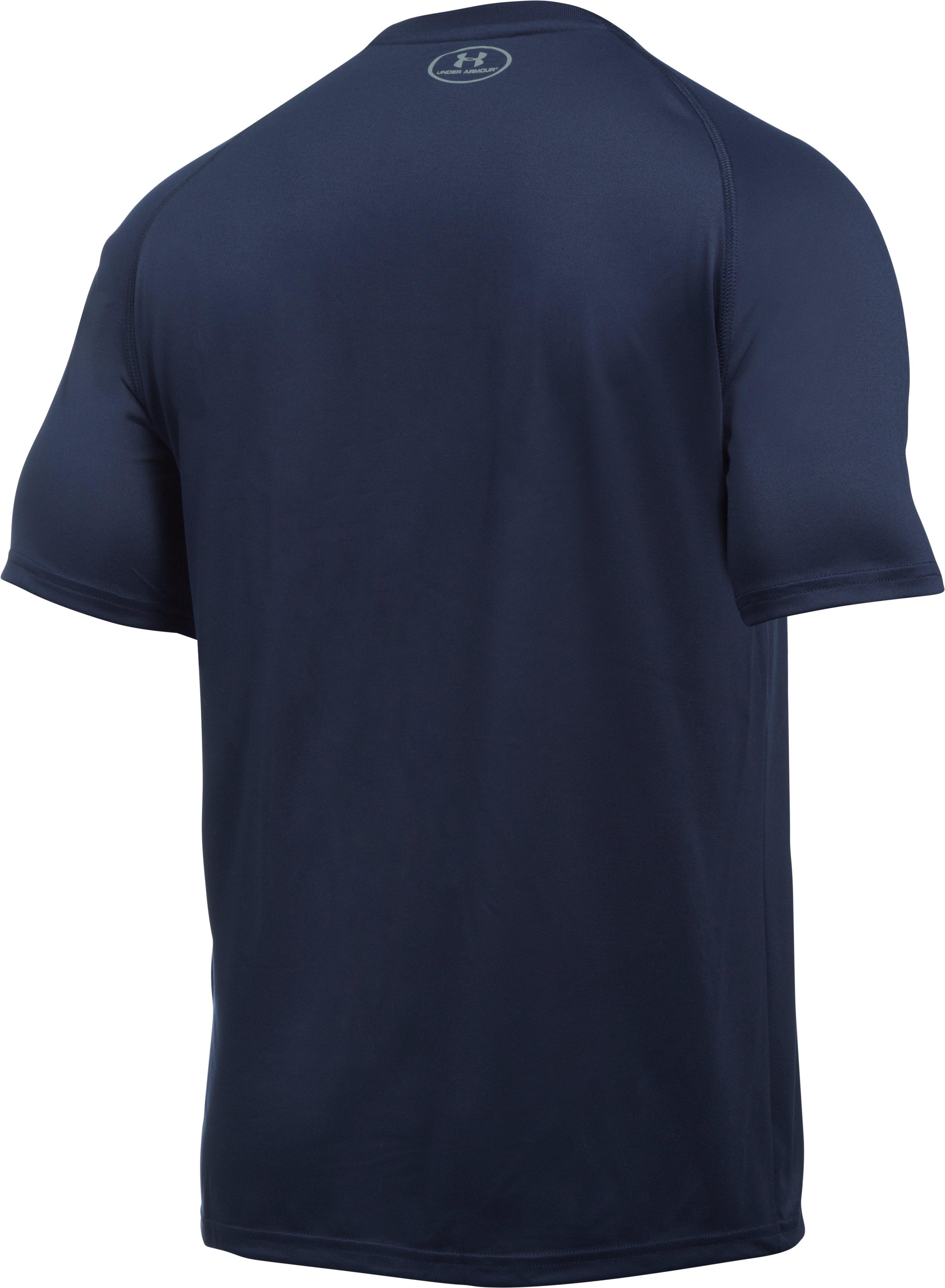 Men's Notre Dame UA Tech™ Team T-Shirt, Midnight Navy