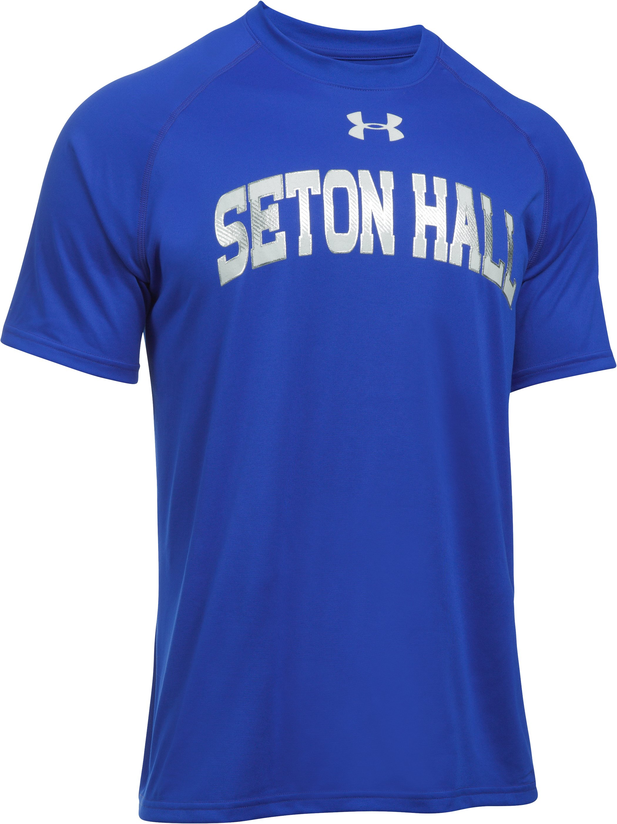 Men's Seton Hall UA Tech™ Team T-Shirt, Royal,
