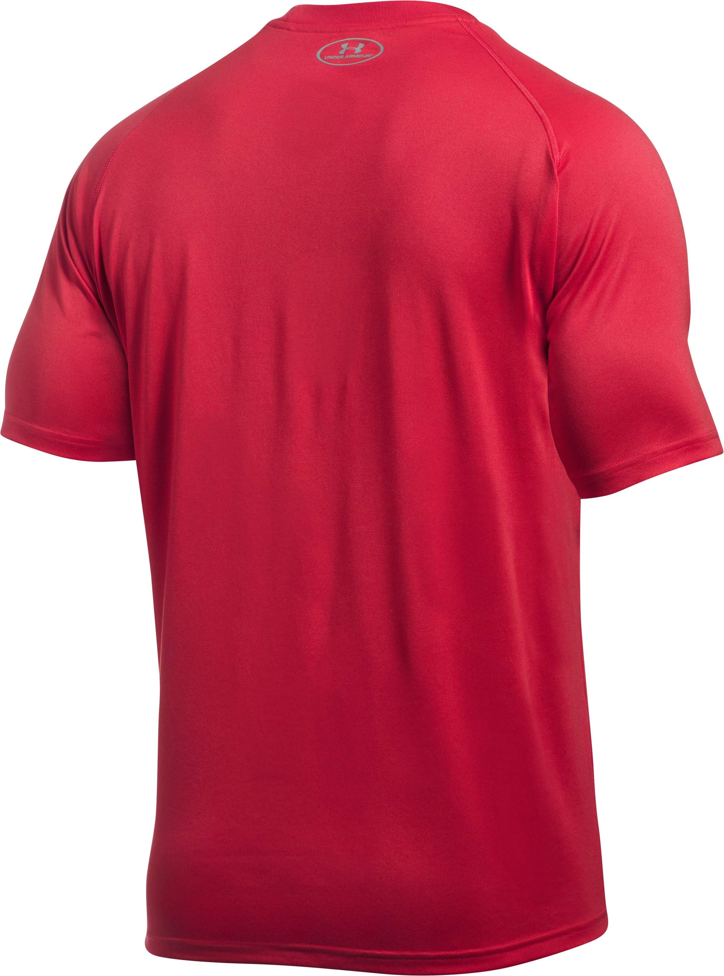Men's St. John's UA Tech™ Team T-Shirt, Red,