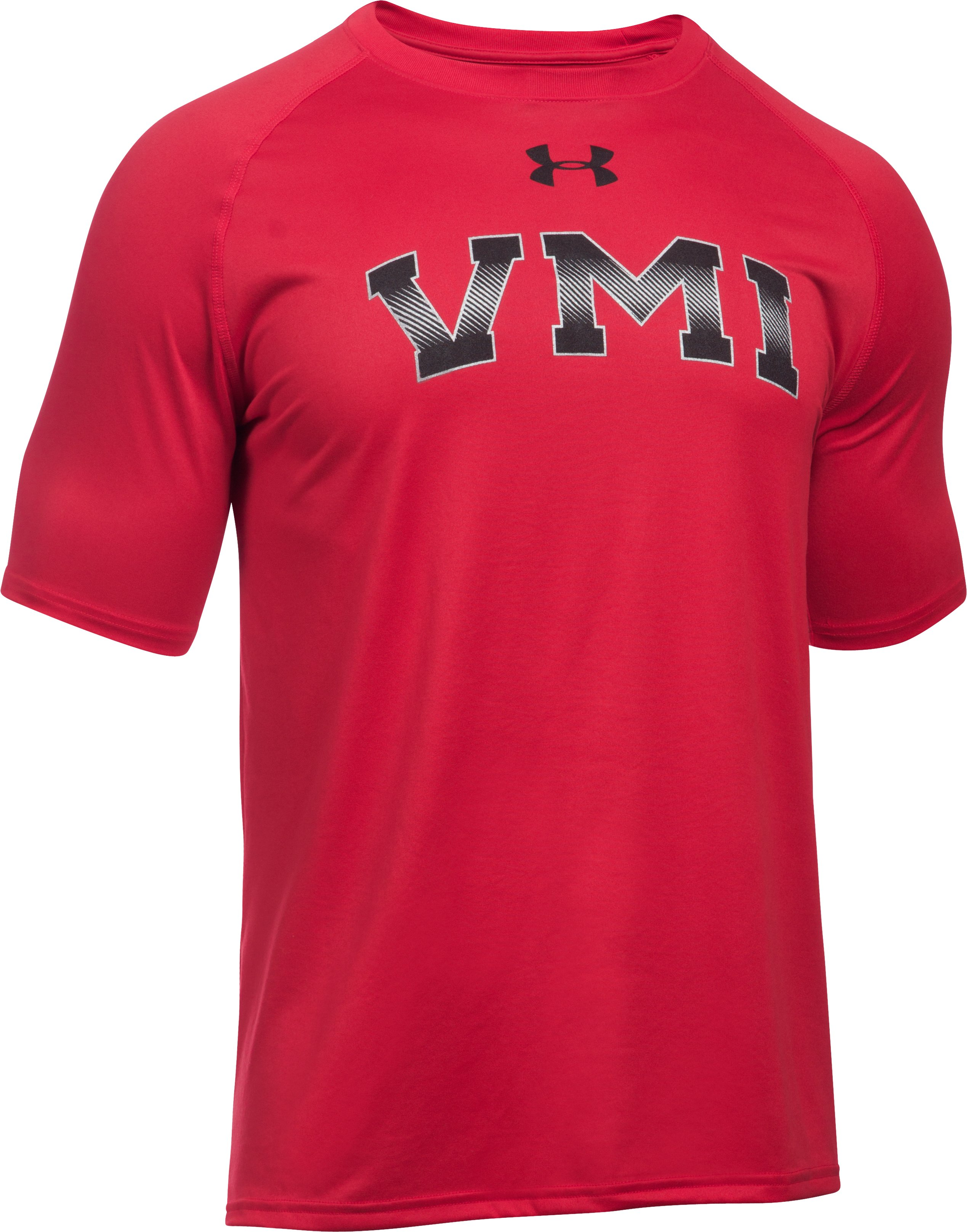 Men's VMI UA Tech™ Team T-Shirt, Red,