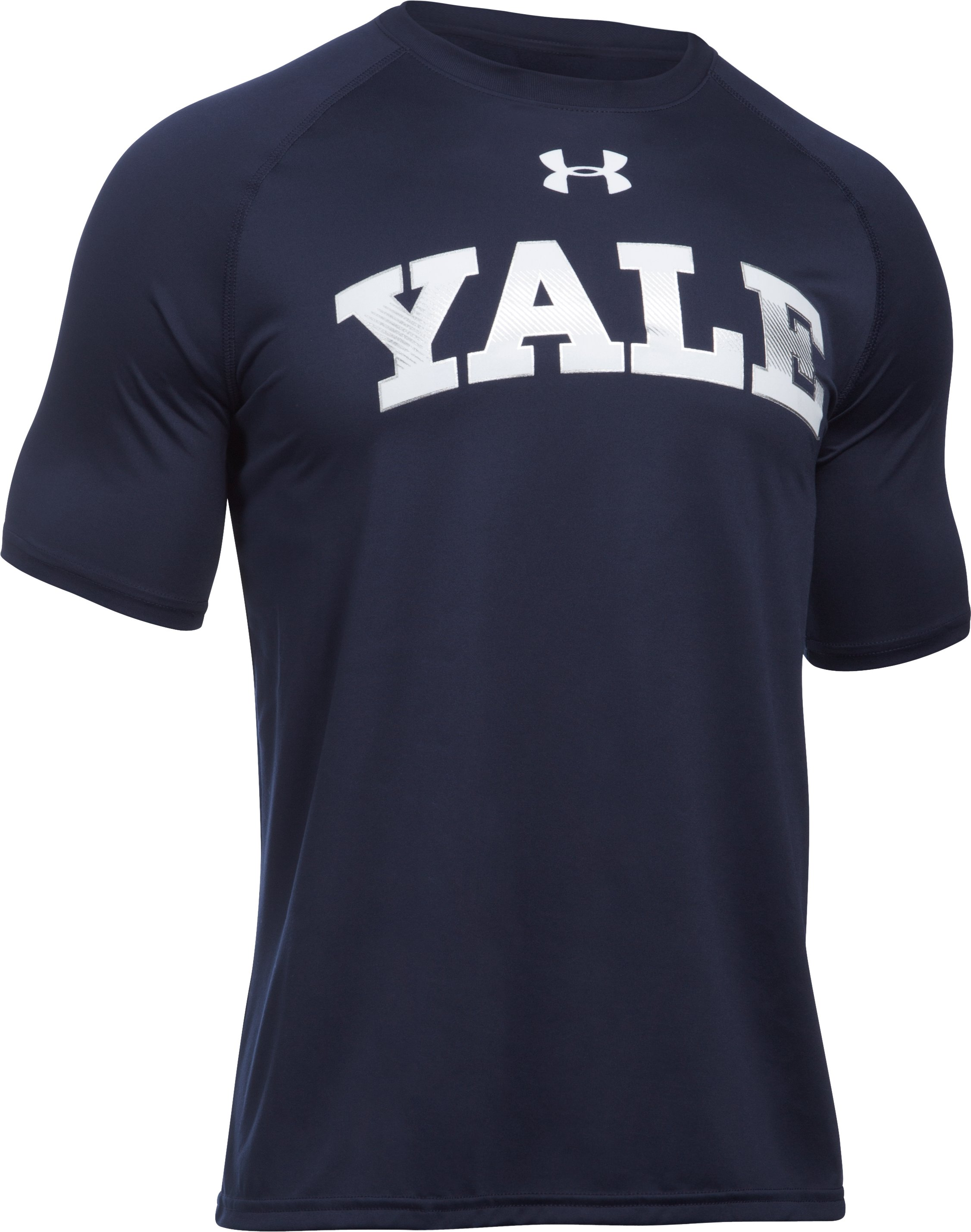 Men's Yale UA Tech™ Team T-Shirt, Midnight Navy
