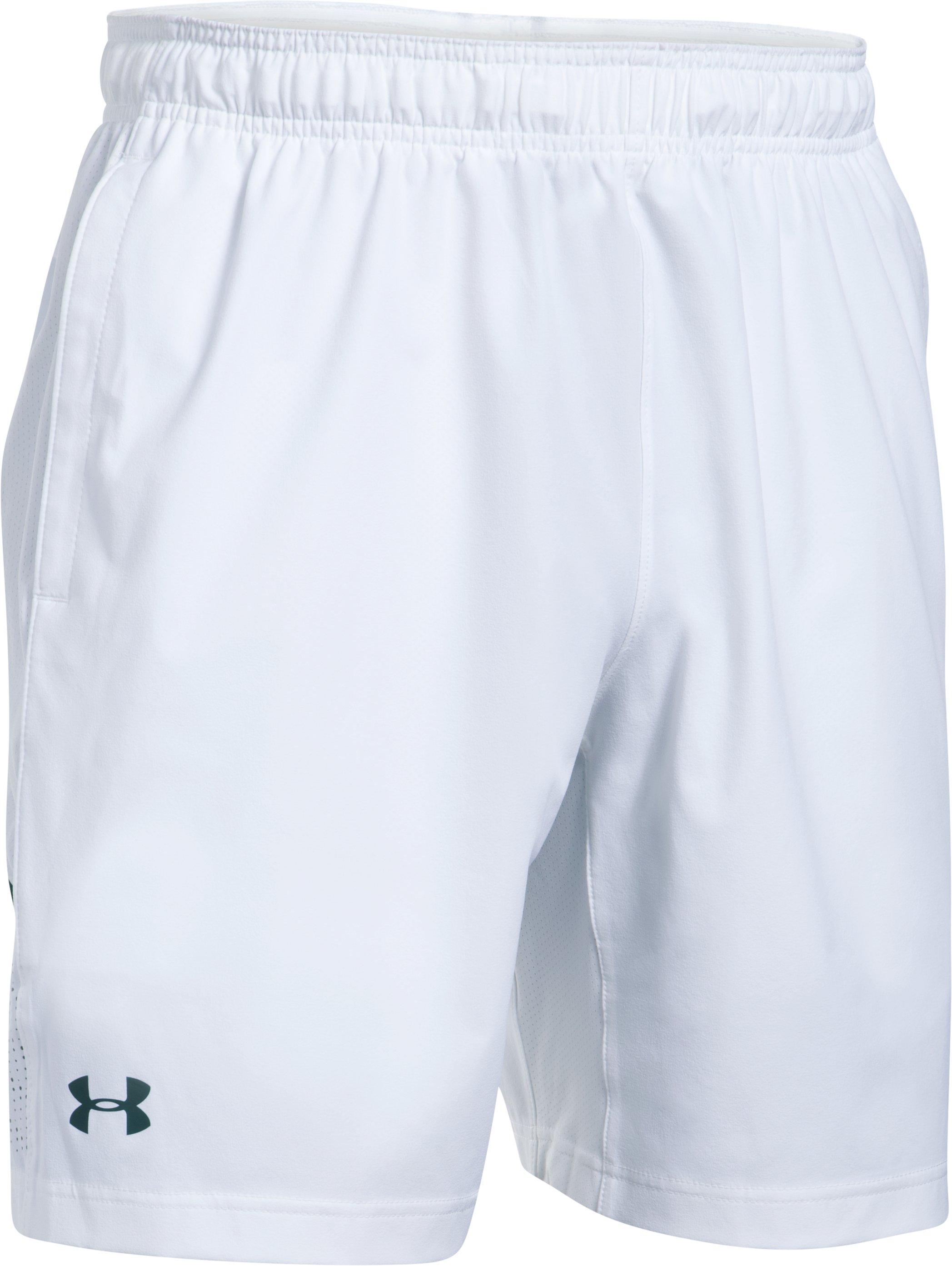 Men's UA Tennis Tournament Shorts, White,