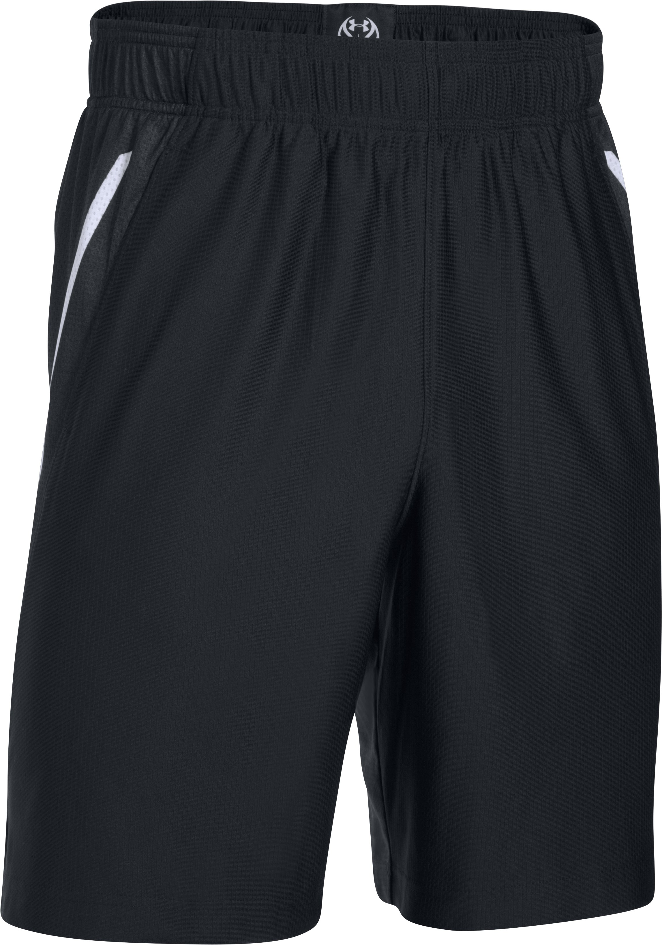 "Men's UA Team 9"" Shorts, Black ,"