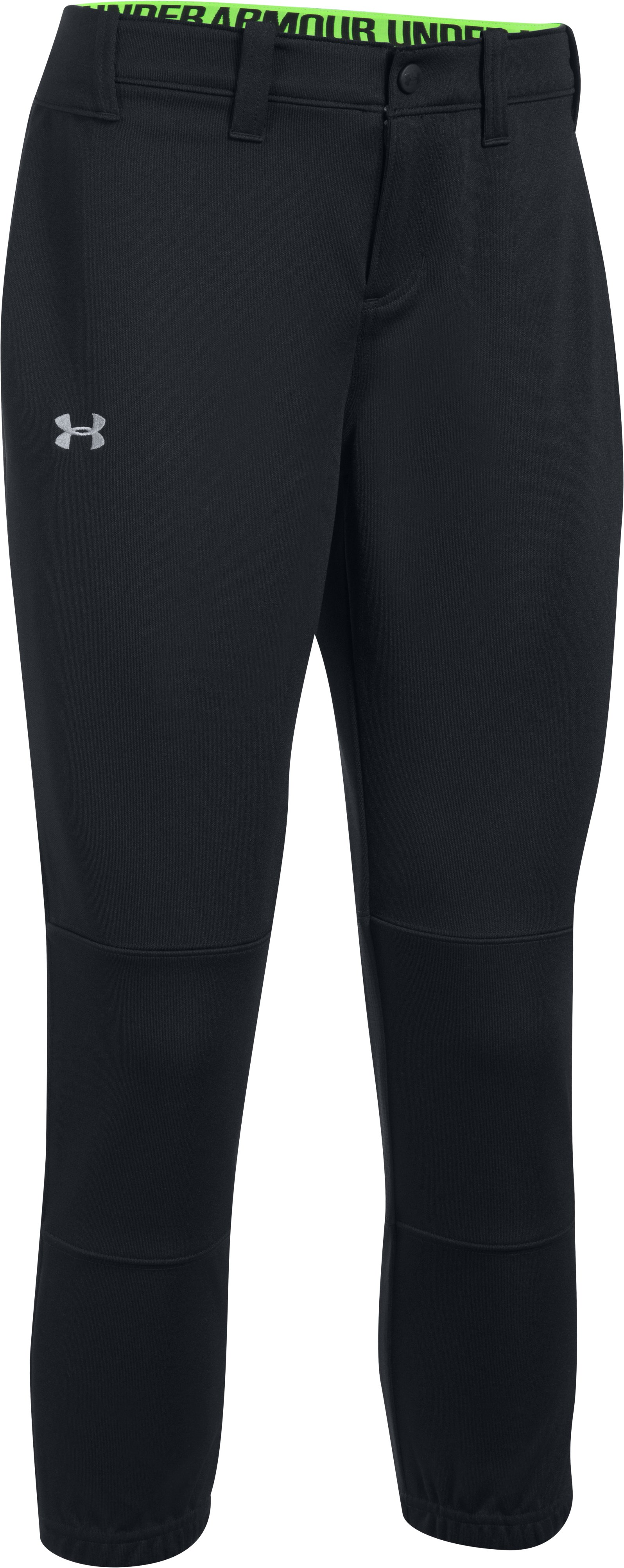 Women's UA Force Out Crop Pants, Black , undefined