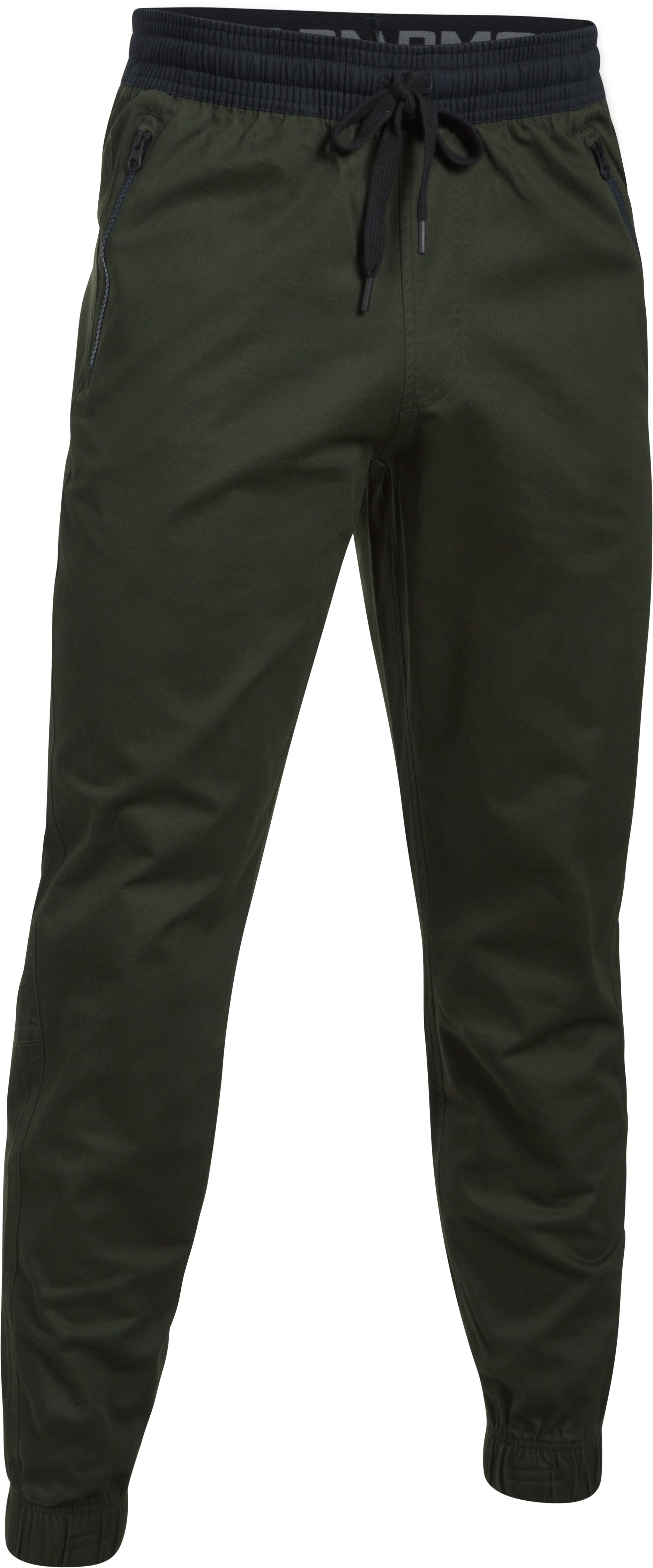 Men's UA Performance Chino Joggers, Artillery Green, undefined