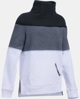 Girls' UA Threadborne™ Fleece Slouchy Crew  4 Colors $54.99