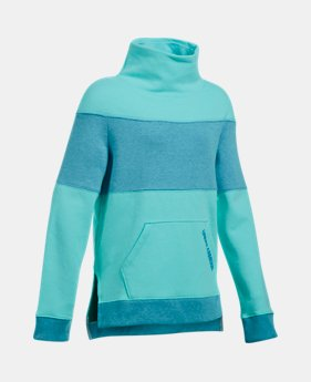 1481cd5a6 Girls' UA Threadborne™ Fleece Slouchy Crew 1 Color Available $32.99