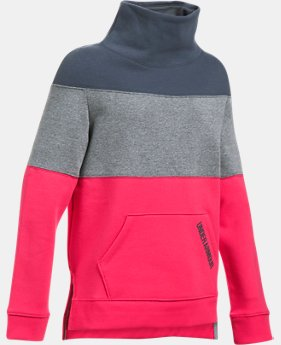 Girls' UA Threadborne™ Fleece Slouchy Crew  1 Color $32.99 to $41.24