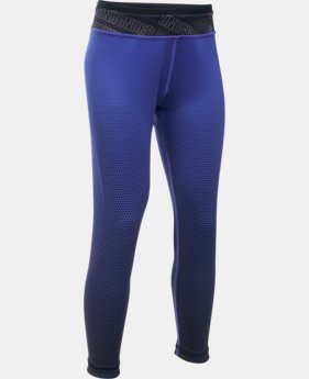 Girls' UA Reversible Crop Leggings   $64.99