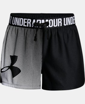 Girls' UA Play Up Graphic Shorts  2 Colors $22.99