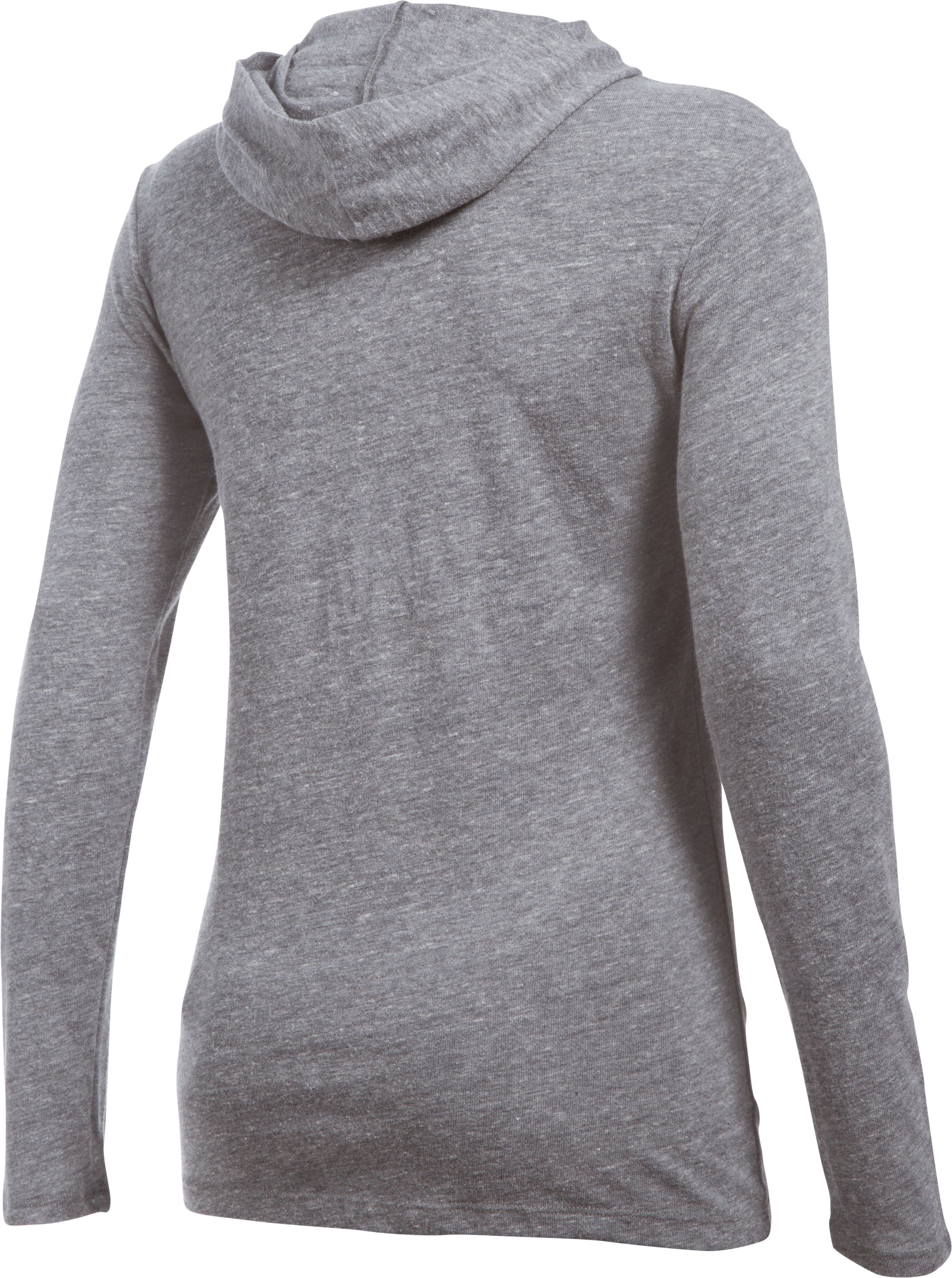 Women's South Florida UA Charged Cotton® Tri-Blend Hoodie, LEGACY GRAY HEATHER,