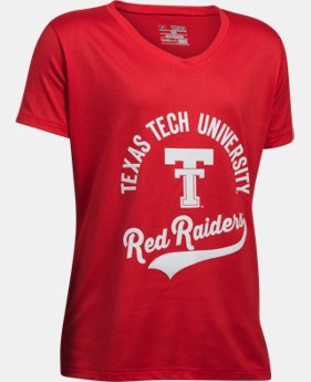 Girls TT UA Tech V-Neck Tee LIMITED TIME: FREE U.S. SHIPPING 1 Color $24.99