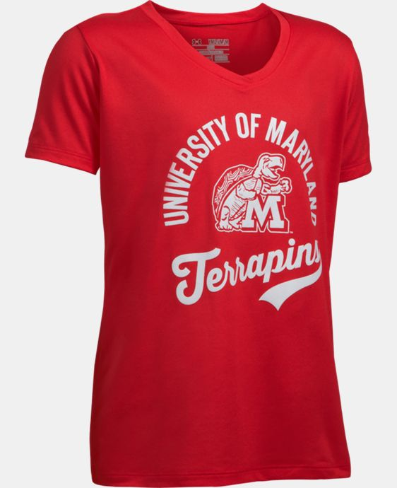 New Arrival Girls' Maryland UA Tech™ T-Shirt LIMITED TIME: FREE U.S. SHIPPING 1 Color $24.99