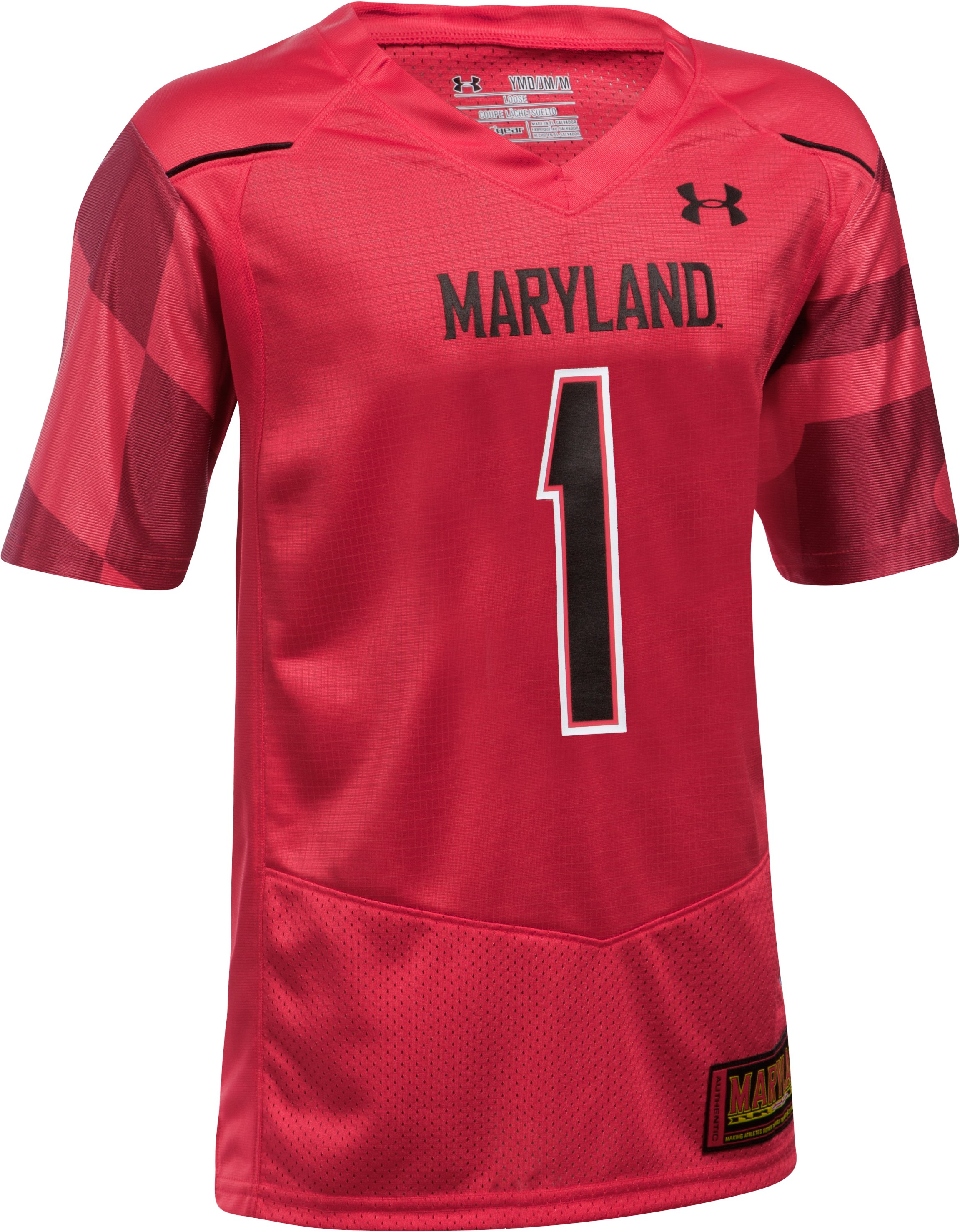 Kids' Maryland Replica Jersey, Red