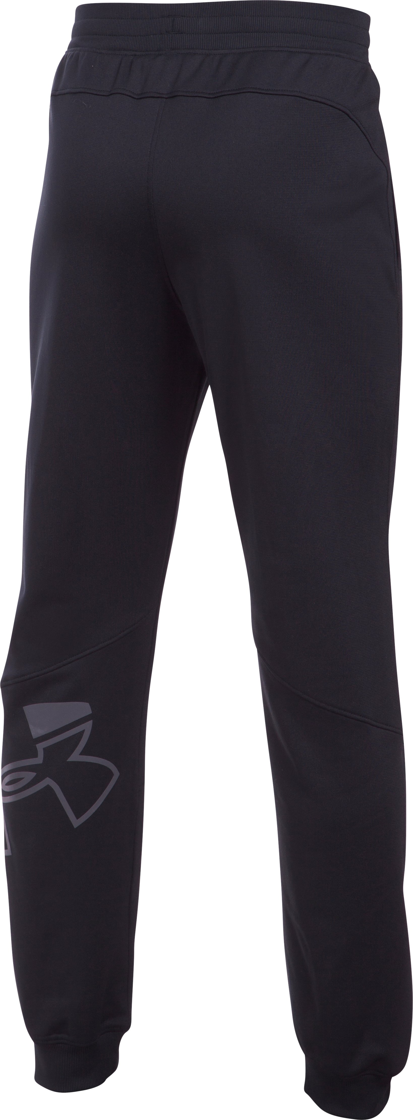 Boys' UA Interval Warm-Up Jogger, Black ,