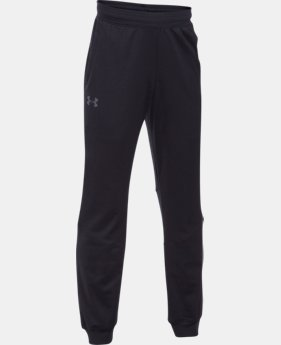 New Arrival Boys' UA Interval Warm-Up Jogger  3 Colors $39.99