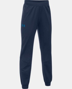 New Arrival Boys' UA Interval Warm-Up Jogger  1 Color $39.99