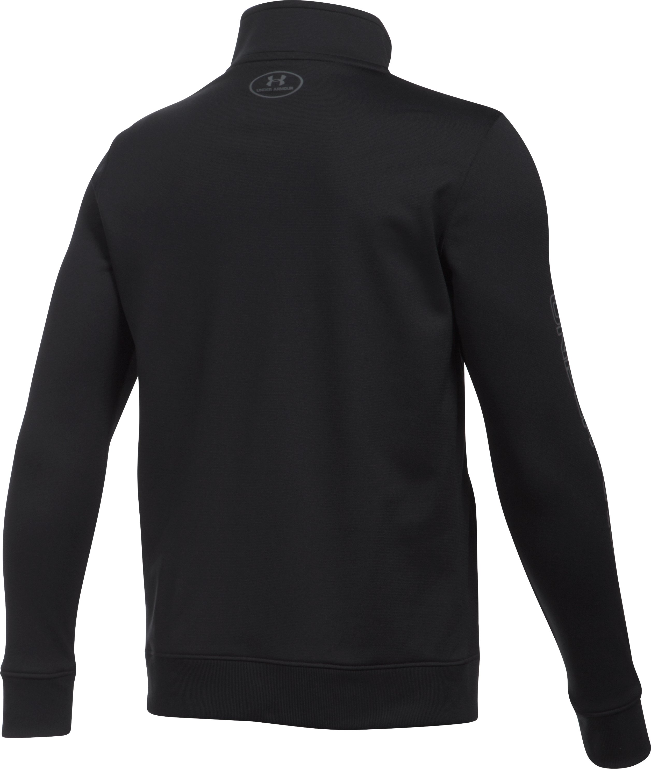 Boys' UA Interval Jacket, Black