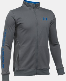 Boys' UA Interval Jacket  4  Colors Available $23.99 to $29.99
