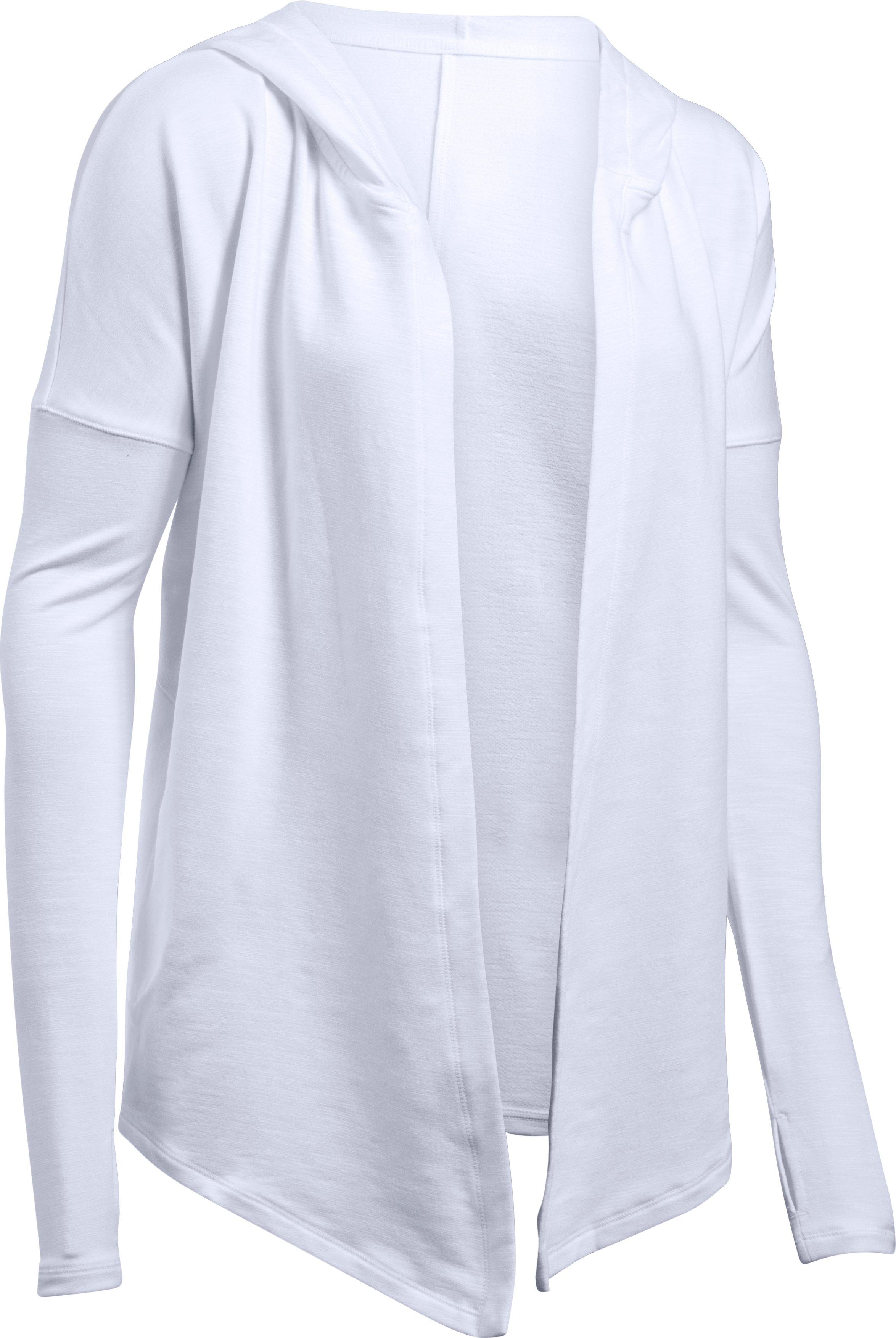 Women's UA Rehearsal Wrap, White, undefined