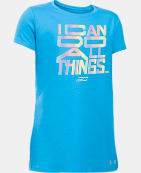 New Arrival Girls' SC30 Do All Things Short Sleeve T-Shirt  1 Color $18.99