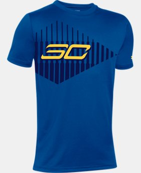 New Arrival Boys' Curry Tip Of Spear Short Sleeve T-Shirt   $24.99