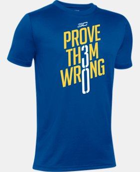 New Arrival Boys' SC30 Prove Th3m Wrong Short Sleeve T-Shirt   $24.99