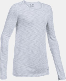 New to Outlet Girls' UA Elevated Seamless Long Sleeve  1  Color Available $23.99