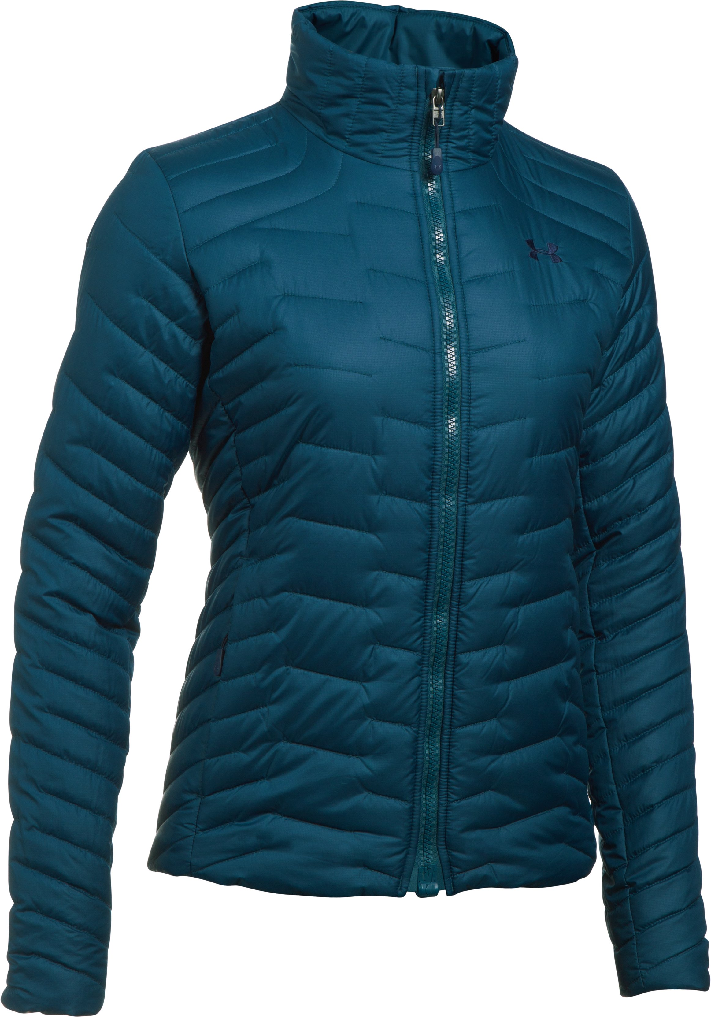Women's ColdGear® Reactor Jacket, TRUE INK,