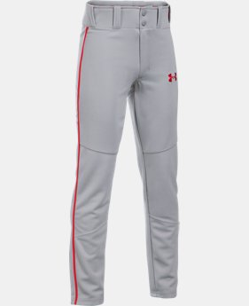 Boys' UA Heater Piped Baseball Pants  6 Colors $34.99