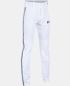 New Arrival Boys' UA Heater Piped Baseball Pants  3 Colors $34.99