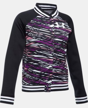 PRO PICK Girls' UA Armour® Fleece Bomber LIMITED TIME OFFER 1 Color $29.99