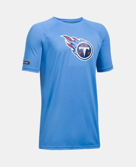 c298a6fc1a9f Boys  NFL Combine Authentic UA Tech™ Short Sleeve T-Shirt 1 Color  Available. 1 Color Available. Tennessee Titans