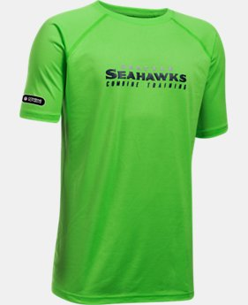 Boys' NFL Combine Authentic Team Wordmark Short Sleeve  1 Color $28