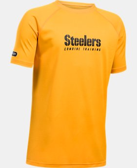Boys' NFL Combine Authentic Team Wordmark Short Sleeve LIMITED TIME: 25% OFF 2 Colors $20.99 to $28