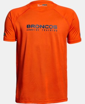 Boys' NFL Combine Authentic Team Wordmark Short Sleeve LIMITED TIME: 25% OFF 2 Colors $20.99