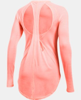 Women's UA Breathe Stripe Open Back Top  1 Color $41.99 to $44.99