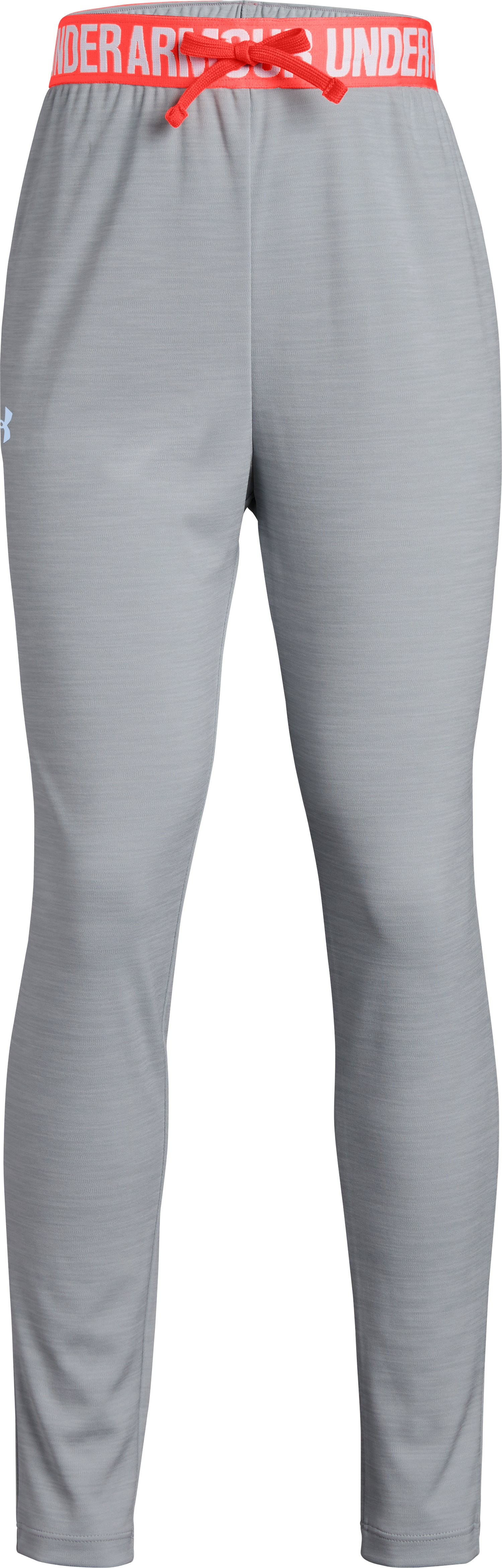 Girls' UA Tech™ Printed Jogger, OVERCAST GRAY