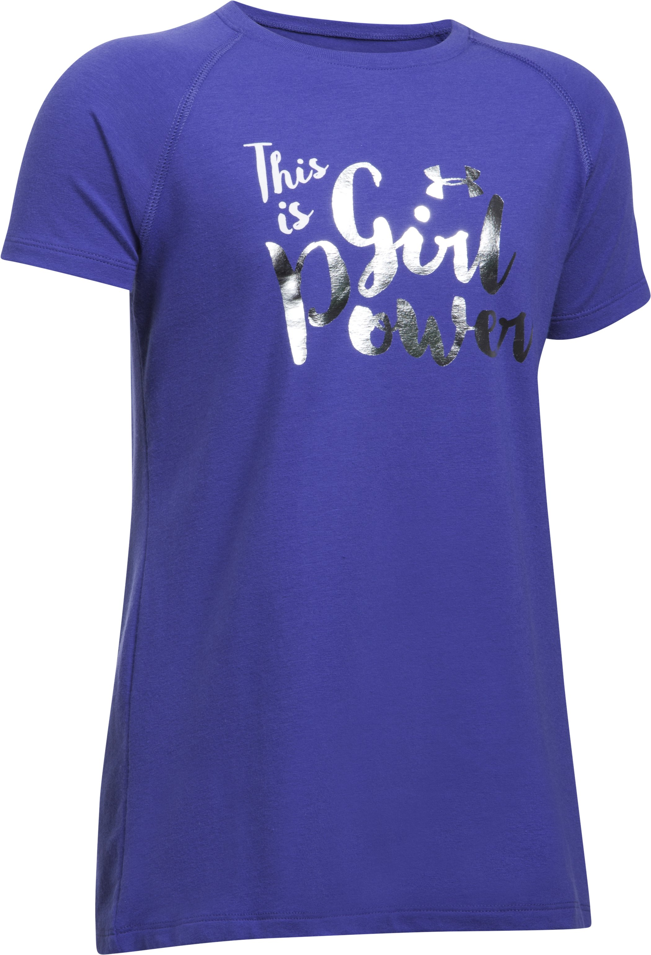 Girls' UA This Is Girl Power T-Shirt, Pluto