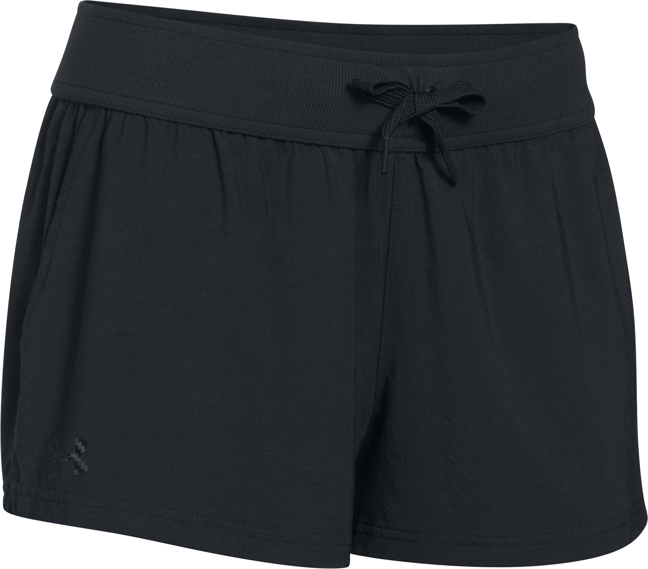 Women's Athlete Recovery Sleepwear Shorts, Black , undefined