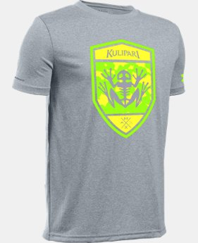 New Arrival Kids' UA Frog Battalion T-Shirt   $19.99